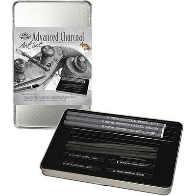 Royal Brush 422662 Advanced Charcoal Art Set with Tin