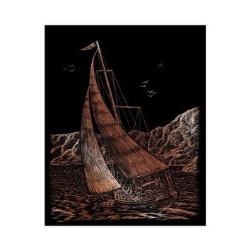 Royal & Langnickel Sailing Art Engraving