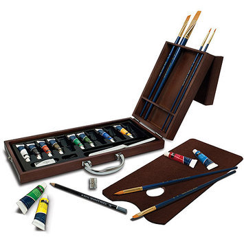 Royal Brush Premier Easel Set-Acrylic Painting