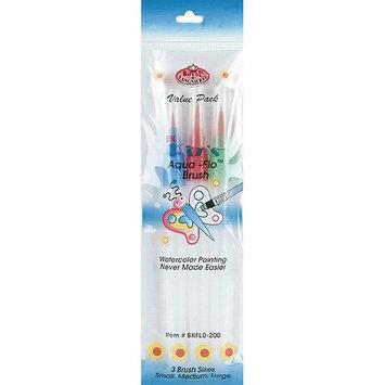 Royal Brush Big Kids Choice Aqua-Flo Brush Set, 3-Pack