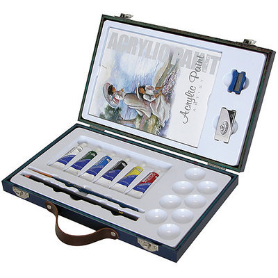 Royal Brush Travel Easy Artist Sets, Watercolors