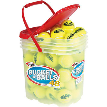 Gamma 48-pk. Bucket-O-Balls Tennis Ball Set