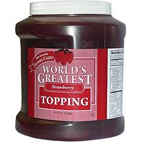 Gold Medal World's Greatest Strawberry Topping