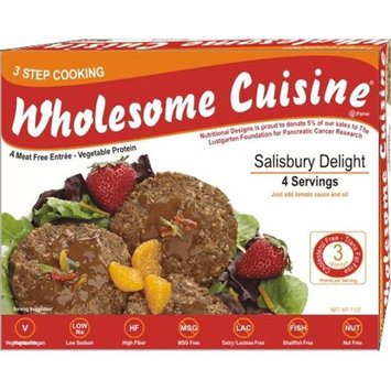 Nutritional Designs Inc. 712-WC12 Salisbury Delight Pack of- 4