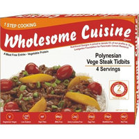 Nutritional Designs Inc. 916-WC12 Polynesian Vege Steak Tidbits Pack of- 4