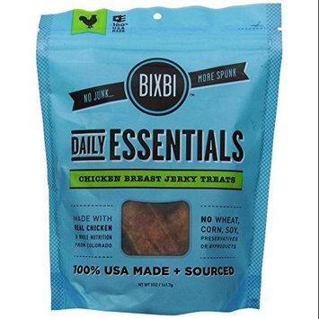 Organic Pet Superfood BIXBI Daily Essentials Chicken Breast Dog Jerky 5oz