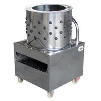 Furui FR-56 Chicken Pluckers Defeather Commercial Poultry Cleaning Machine 4-6 Bantams