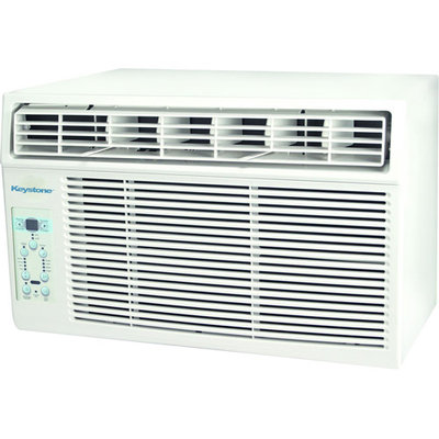 Keystone KSTAW08B Energy Star 8,000-BTU 115V Window-Mounted Air Conditioner with