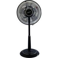 Keystone Fans 12 in. Oscillating Pedestal Fan with Remote Control in Black KSTFA120AG