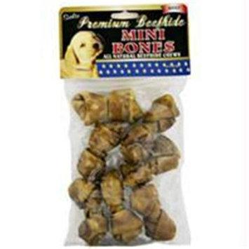 Salix Llc - Premium Beefhide Mini Bones- Beef 7 Pack - 64207
