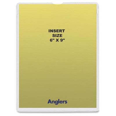 Anglers Company Ltd Anglers Self-stick Crystal Clear Poly Envelopes - Self-sealing - Polypropylene - 50/pack