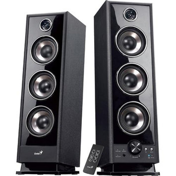 Genius, Kye Systems Corp SP-HF2020 V2 2.0 Speaker System - 60 W RMS - Black