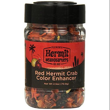 Flukers FLUKER'S Hermit Headquarters Color Enhancer For Hermit Crab 2.5 Oz. Red