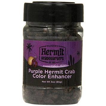 Flukers FLUKER'S Hermit Headquarters Color Enhancer For Hermit Crab 3 Oz. Purple
