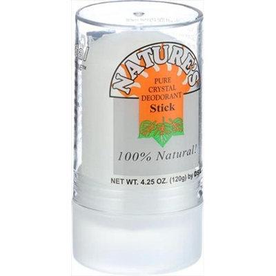 Thai Deodorant Stone Crystal Deodorant Stone, Push-Up, 4.25 oz