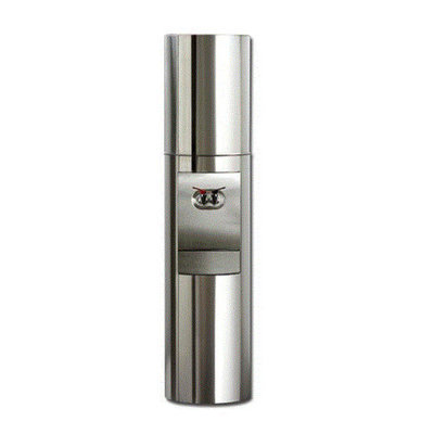 Aquaverve Water Coolers S2 Stainless Steel Triple Bottled Water Cooler with Energy Star Compliant Temperature: RoomTemp/Cold, Finish: Stainless Steel