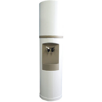 Aquaverve Water Coolers Fahrenheit Water Cooler Temperature: RoomTemp/Cold, Finish: White with Galveston Gray