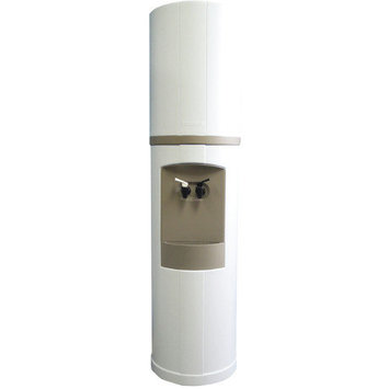 Aquaverve Water Coolers Fahrenheit Water Cooler Temperature: Hot/Cold, Finish: White with Blue