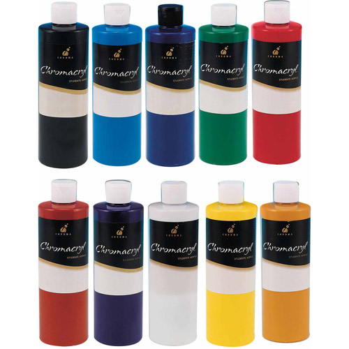 Chroma Inc. Chromacryl Students' Acrylic Paints cobalt blue pint