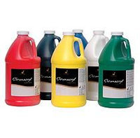 Chroma Chromacryl Premium Acrylic Paint - 1/2 Gallon - Set of 6 - Assorted Colors