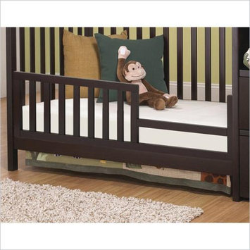 C & T International Sorelle Presley Crib and Changer Toddler Guard Rail - Espresso