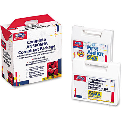 First Aid Only 50 Person ANSI Compliance Package