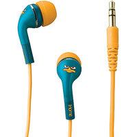 iHome DF-M15 Disney Phineas & Ferb Noise Isolating Headphones