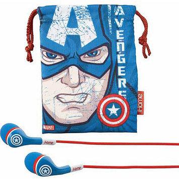 Kid Designs Captain America Earphones MC-M152