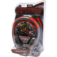Marvel Avengers: Age of Ultron Youth Headphones by eKids AV-140AU. EX