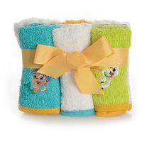 Disney BUBBLE GUPPIES 6 PACK WASHCLOTHS