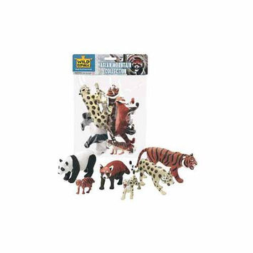 K & M International Asian Mountain Animal Collection by Wild Republic - 53551