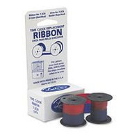 Lathem Time Time Recorder Replacement Ribbon, Blue/Red Ink - LATHEM TIME CORPORATION