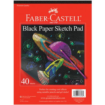 Black Paper Sketch Pad by Faber-Castell