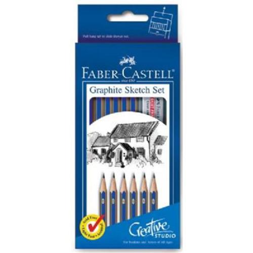Faber-Castell FC114000 Graphite Sketch Set