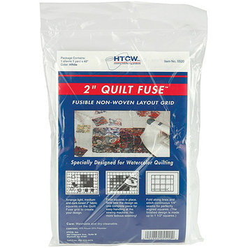 Cotswold Industries Cotswold 5520 Quilt Fuse Fusible Nonwoven Layout Grid-48 in. x 36 in.