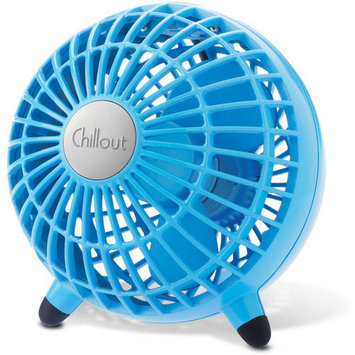 HWLGF3T - Honeywell Chillout USB/AC Adapter Personal Fan; Teal; 6