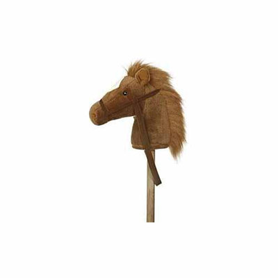 Aurora Gifts Brown Giddy Up Stick Pony