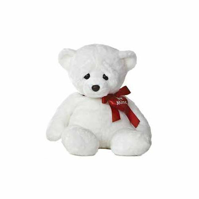 In Love White Woe Bear 18 by Aurora