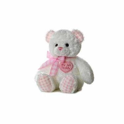 Aurora Plush Baby My First Teddy Bear - Pink 14