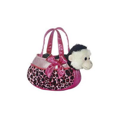 Aurora World Fancy Pals Pet Carrier- Blingy Pink Leopard