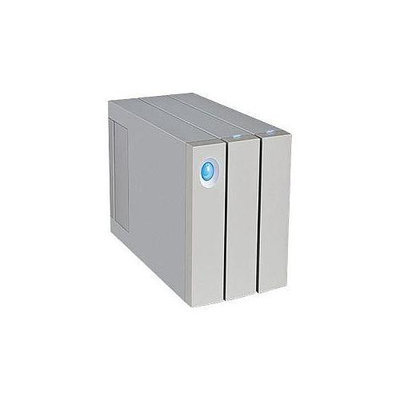 Lacie 8TB 2big Thunderbolt 2 - Professional Dual-Disk Hardware RAID Dual Thunderbolt 2 USB 3.0