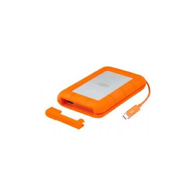 Lacie Rugged 2TB External Hard Drive - Thunderbolt USB 3.0 - Sata - 5400 Rpm - 64MB Buffer - 122 Mbps Maximum Read Transfer Rate - Portable (9000489)