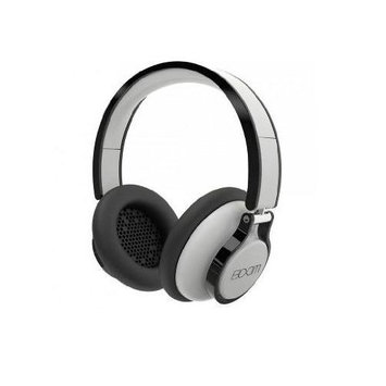 BOOM Rogue Over-Ear DJ Headphones with In-line Controls (White/Black)