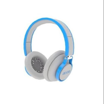 BOOM Rogue Over-Ear DJ Headphones with In-Line Controls (Gray/Blue)