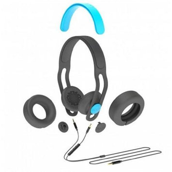 Boom Movement Swap On-Ear/Over-The-Ear Headphones, Black