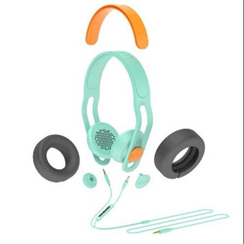 Boom Movement BOOM Swap Convertible On-Ear Headphones with Mic (Green/Orange)