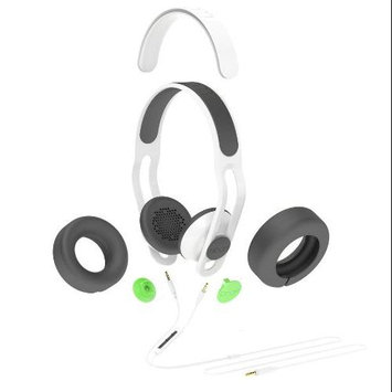Boom Movement BOOM Swap Convertible On-Ear Headphones with Mic (White/Gray)