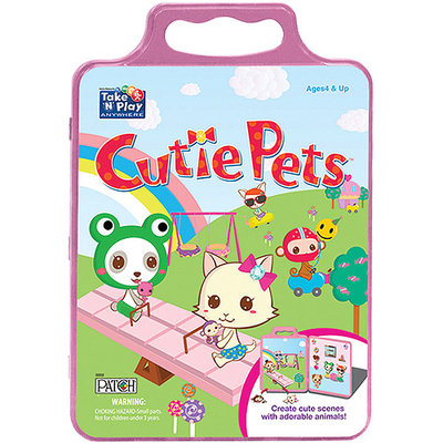 Patch 618 Activity Tin- Cutie Pets- Pack of 2