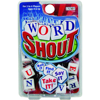 Patch Products Patch 7359 Word Shout Dice Game- Pack of 6