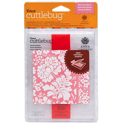 Cuttlebug A2 Embossing Folder/Border Set-Anna Griffin Modern Vines